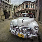 one of the many incredible cars still circulating in Cuba!