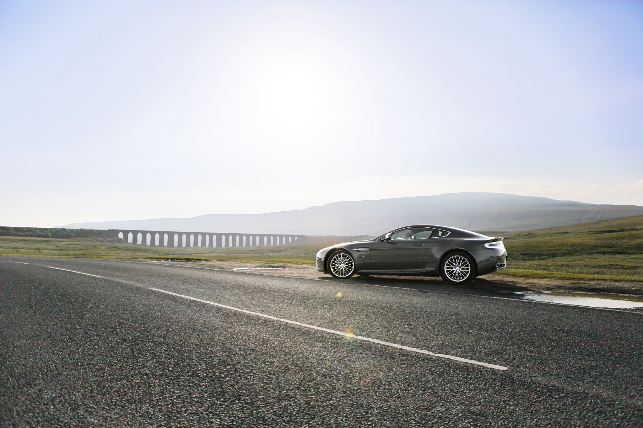 Photograph V8 Vantage - Ribblehead Viaduct by Martyn Lewis on 500px