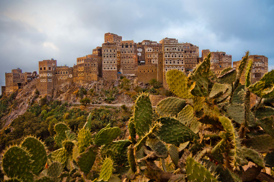 traditional Yemeni houses by Anthony Pappone on 500px.com