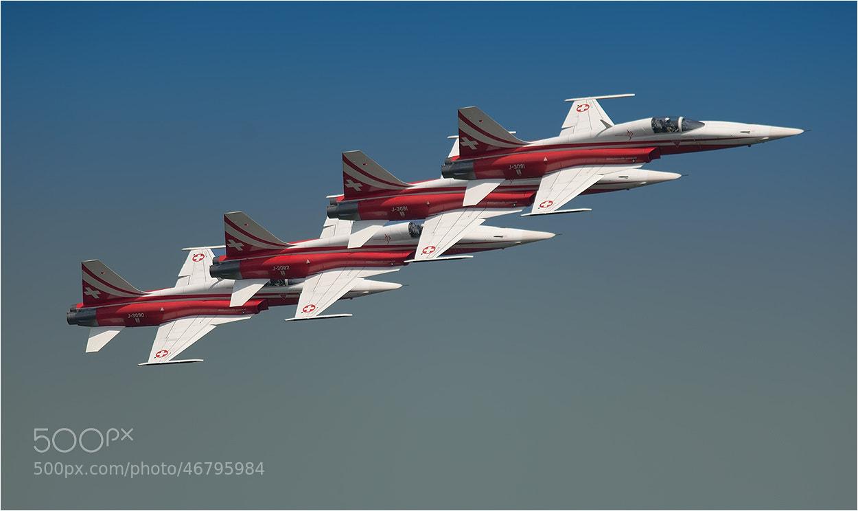 Photograph Air Show Patrouille Suisse by Hans Rentsch on 500px