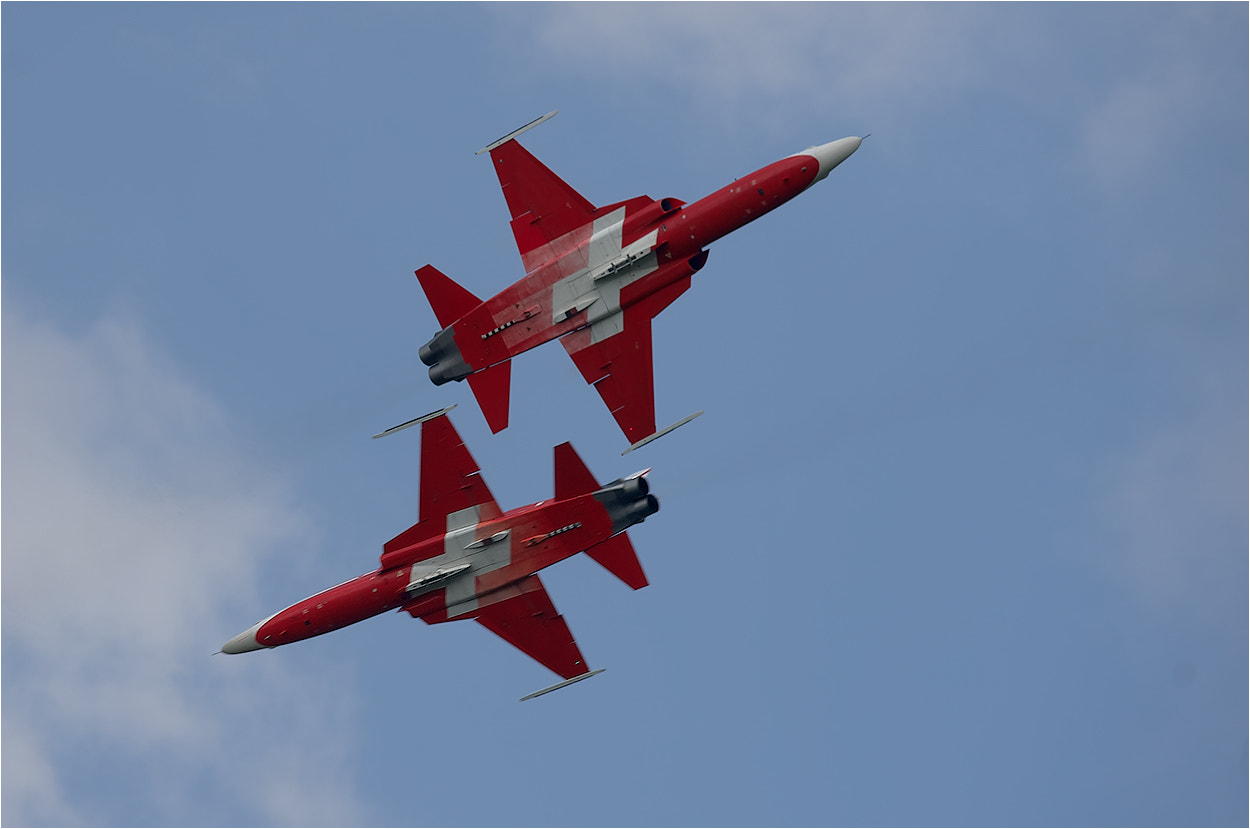 Photograph Air Show Patrouille Suisse by Hans Rentsch on 500px