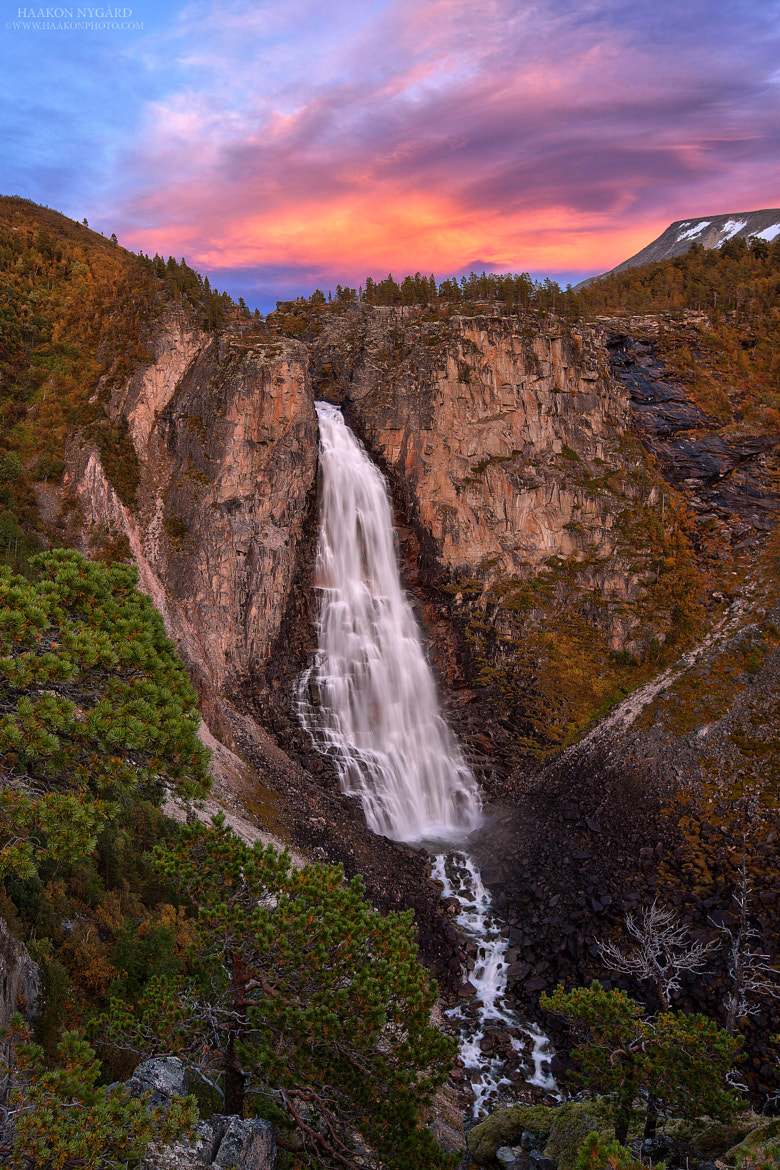 Photograph Lindalsfallet by Haakon Nygaard on 500px