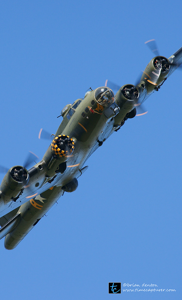Photograph Memphis Belle (Sally B) by Brian Denton on 500px