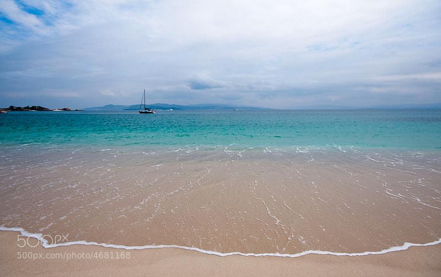 Ven a mí. Playa en las Islas Cíes. Cies Islands Beach.