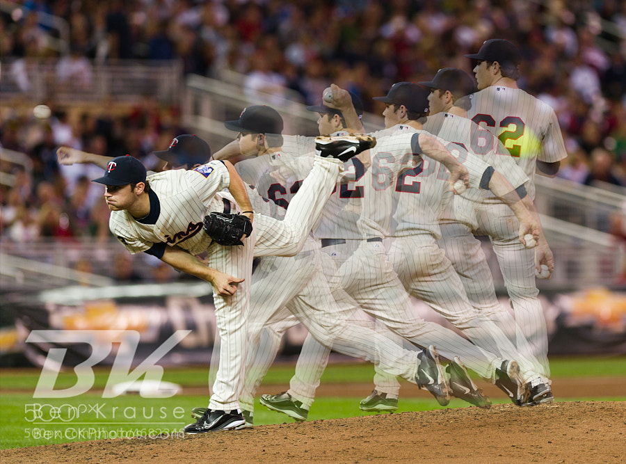 Photograph Minnesota Twins Liam Hendriks MLB Debut, September 6, 2011 by Ben Krause on 500px