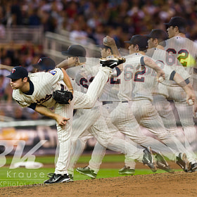 Minnesota Twins Liam Hendriks MLB Debut, September 6, 2011 by Ben Krause (BenCK)) on 500px.com