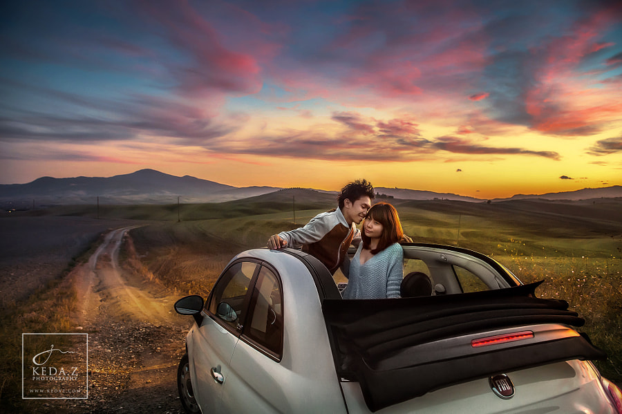Photograph The Journey of Love in Tuscany by Keda.Z Feng on 500px