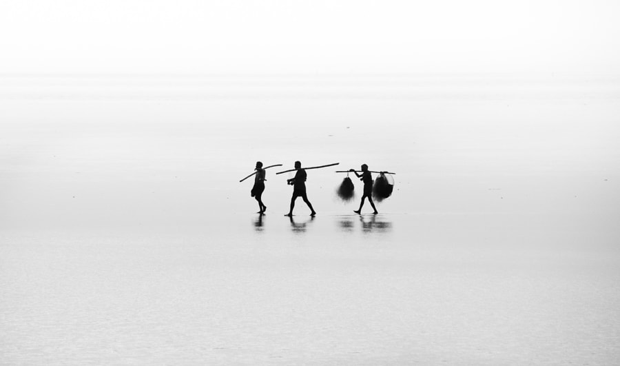 Fishermen of Chandipur by Samujjwal Sahu on 500px.com