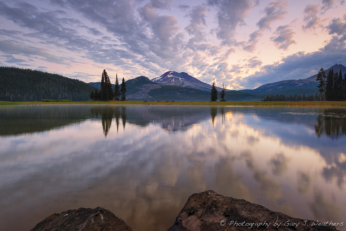 Photograph Almost spectacular sunrise at Sparks Lake by Gary Weathers on 500px