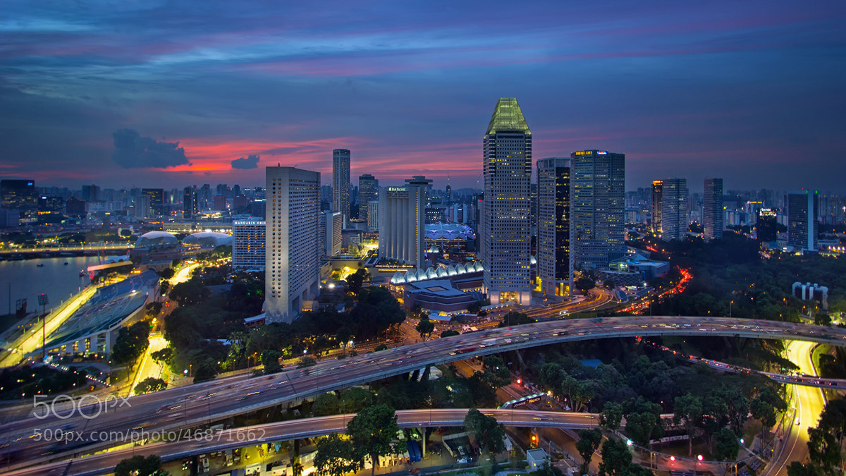 Photograph City Paths by WK Cheoh on 500px