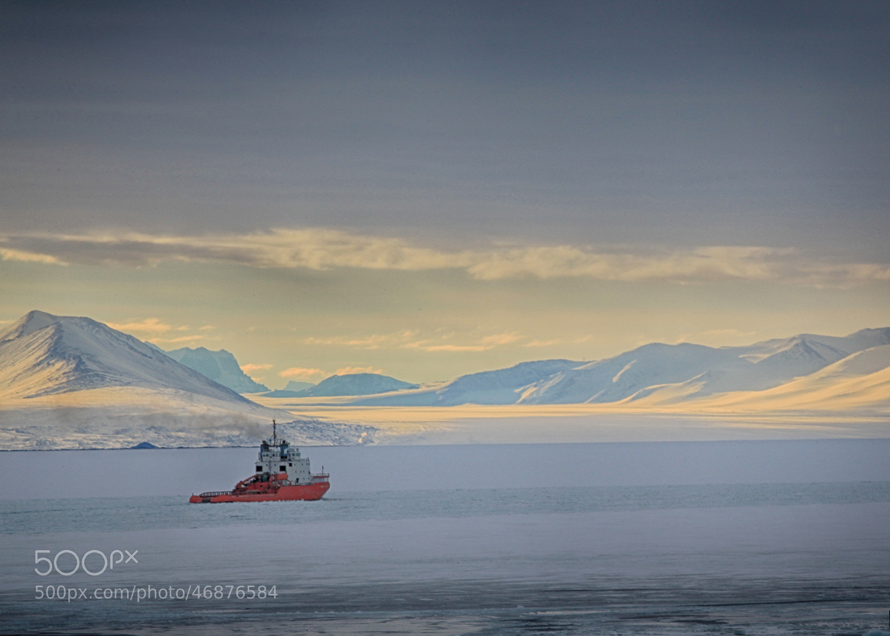 Photograph Ice Breaker Pastels by Deven Stross on 500px