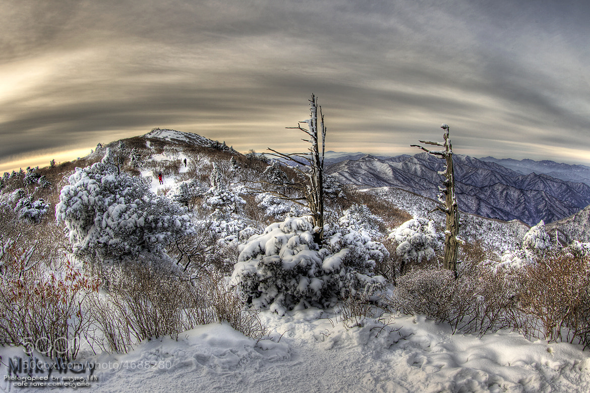 Photograph Snow in the Mountains by minseung ahn on 500px