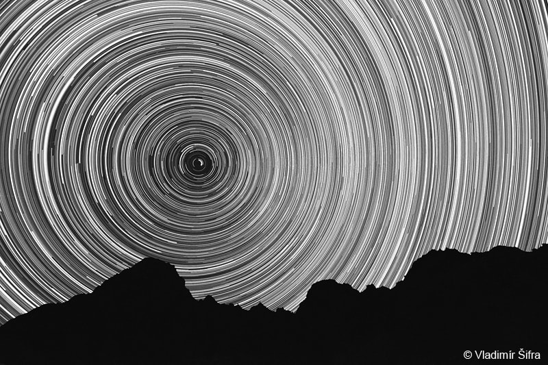Photograph Star trails Slovakia VII by Vladimír Šifra on 500px