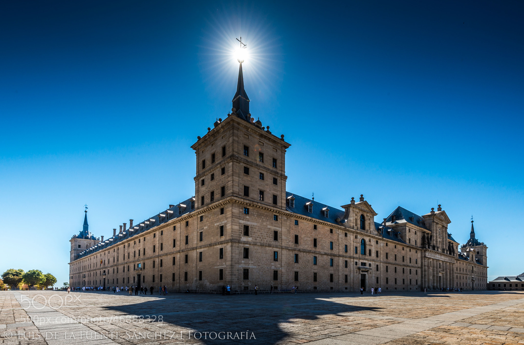 Photograph El Escorial by Luis  de la Fuente Sánchez on 500px