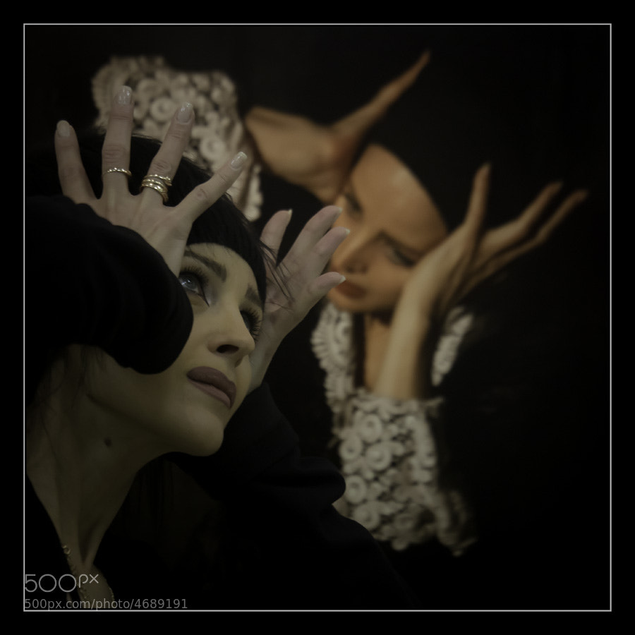 Photograph Actress Olga Ostroumova-Hutshmydt by Sergey Militsky on 500px