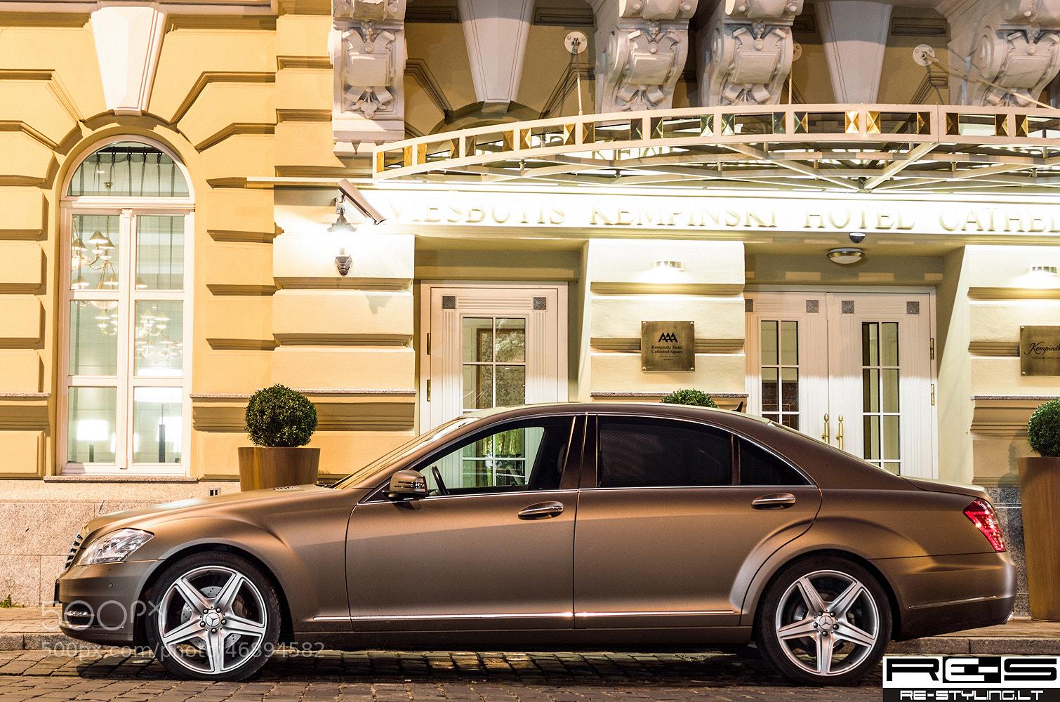 Photograph Mercedes S class in Brown Matte by Norbert Durko on 500px