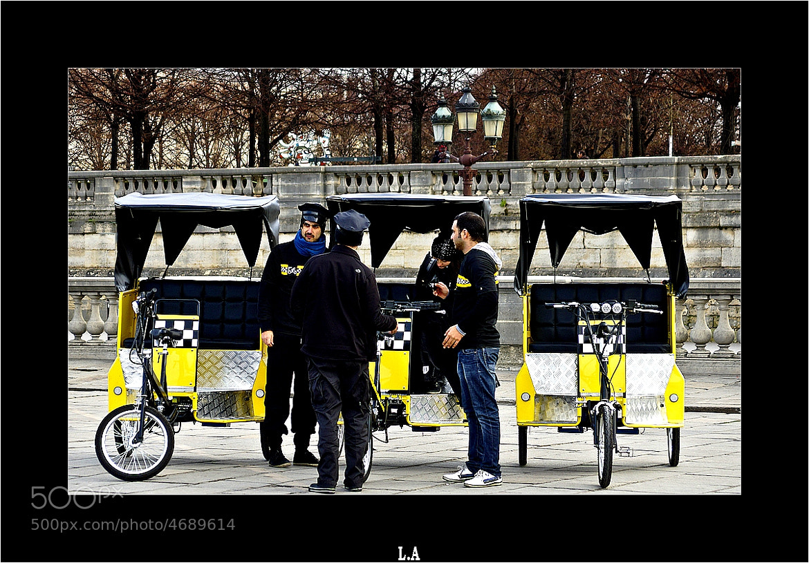 Photograph Velo Taxi in Paris by Loïc Auffray on 500px