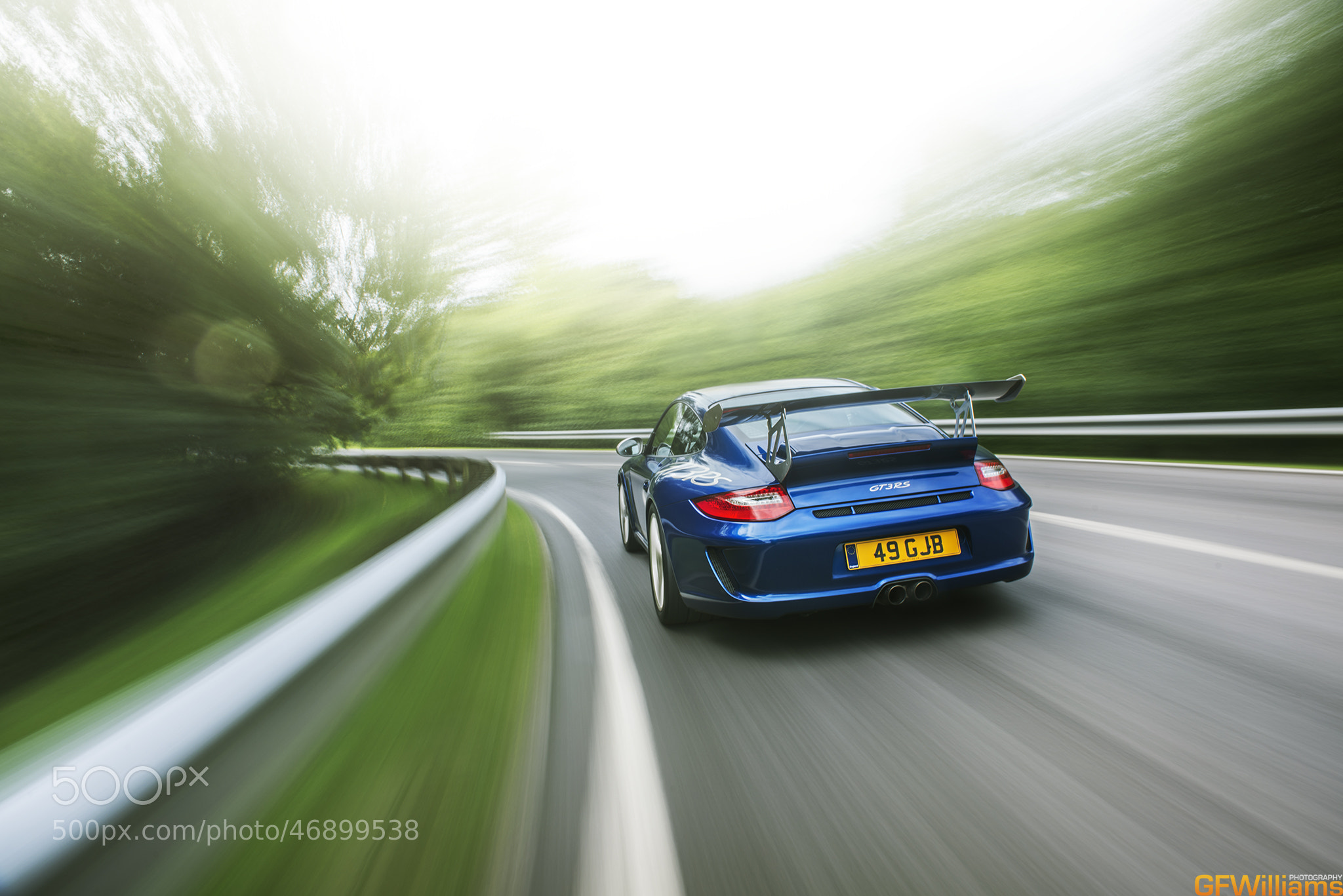 Photograph Porsche GT3RS Speeding! by George Williams on 500px