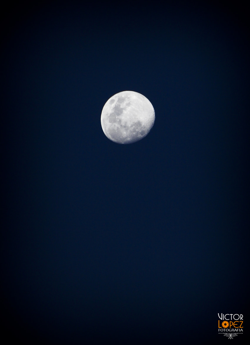 Photograph Blue Moon by Victor Lopez on 500px