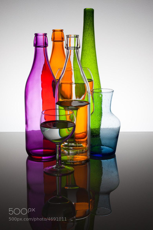 Photograph Bottles & Glasses by François Dorothé on 500px