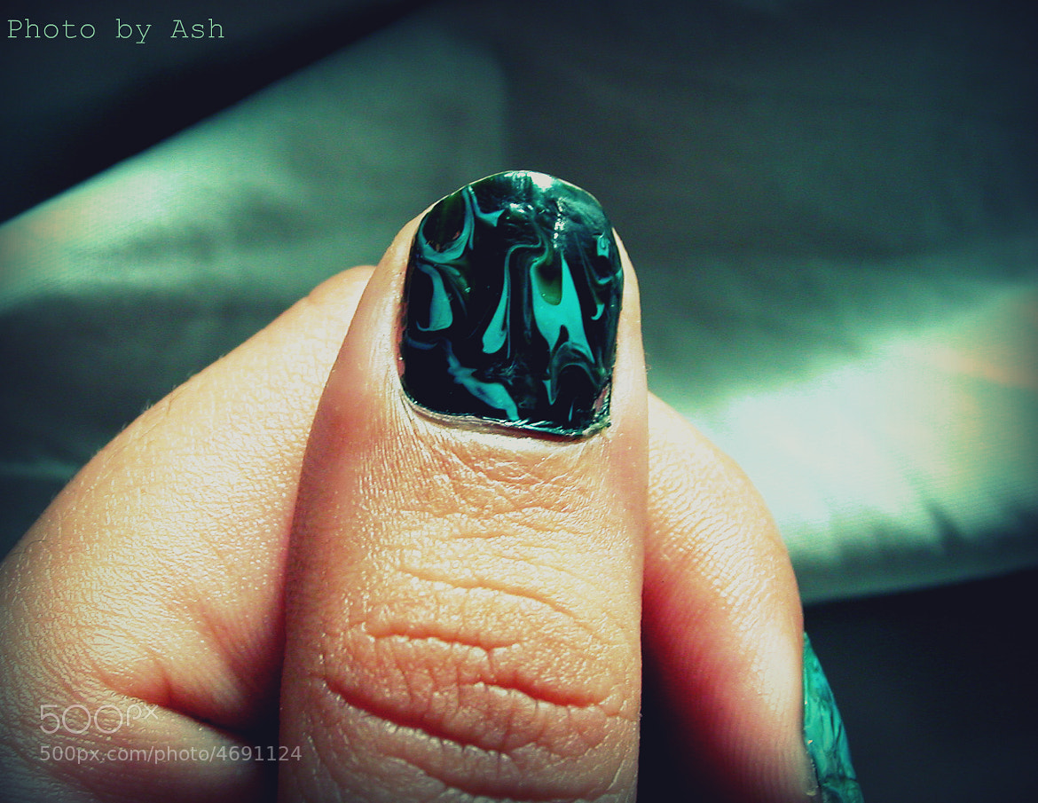 Photograph Marble Texture Nail Art  by Crystals Shining on 500px