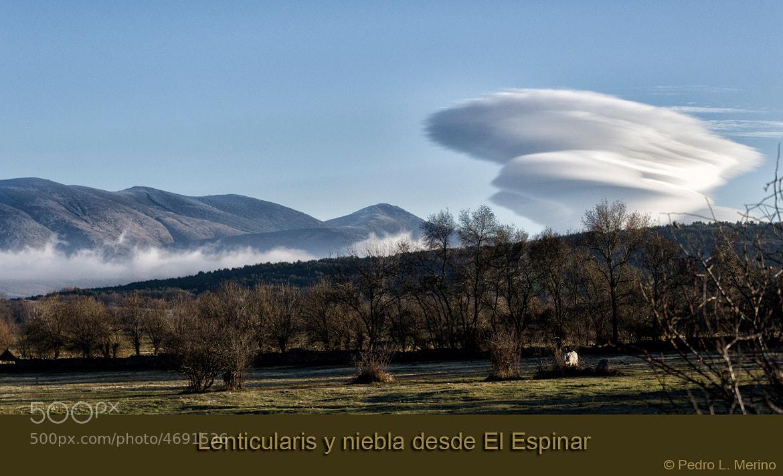 Photograph Nubes lenticularis by Pedro Merino on 500px