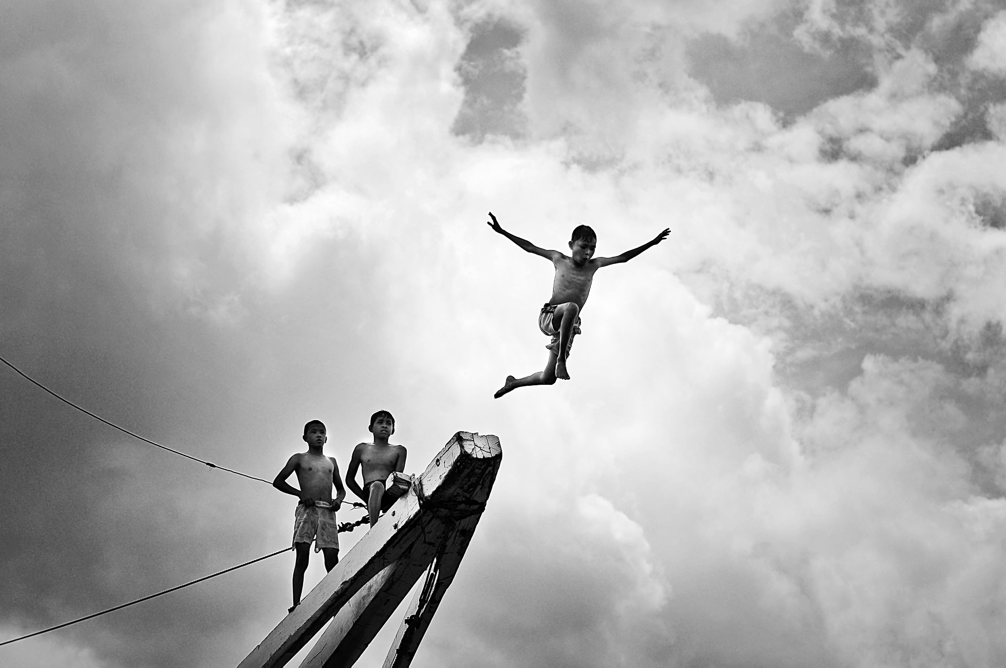 Photograph Leap of innocence by Rio Krisna Murti on 500px