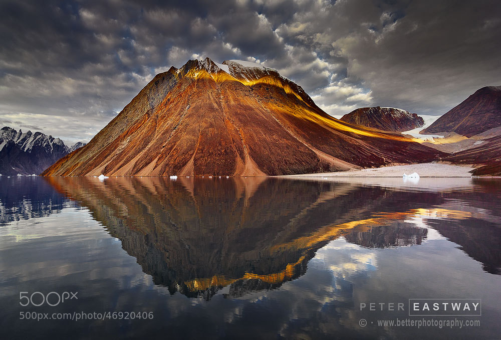 Photograph Nordbugt Peak by Peter Eastway on 500px