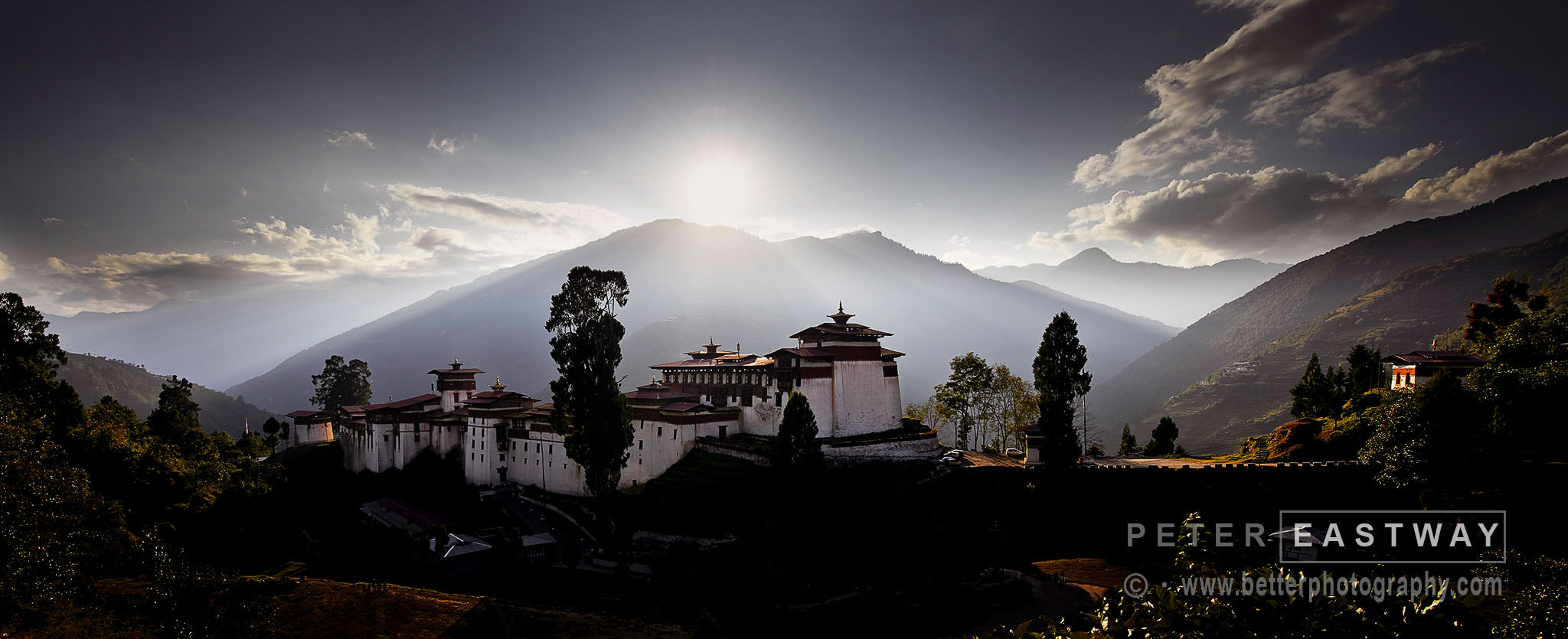 Photograph Trongsa Dzong by Peter Eastway on 500px