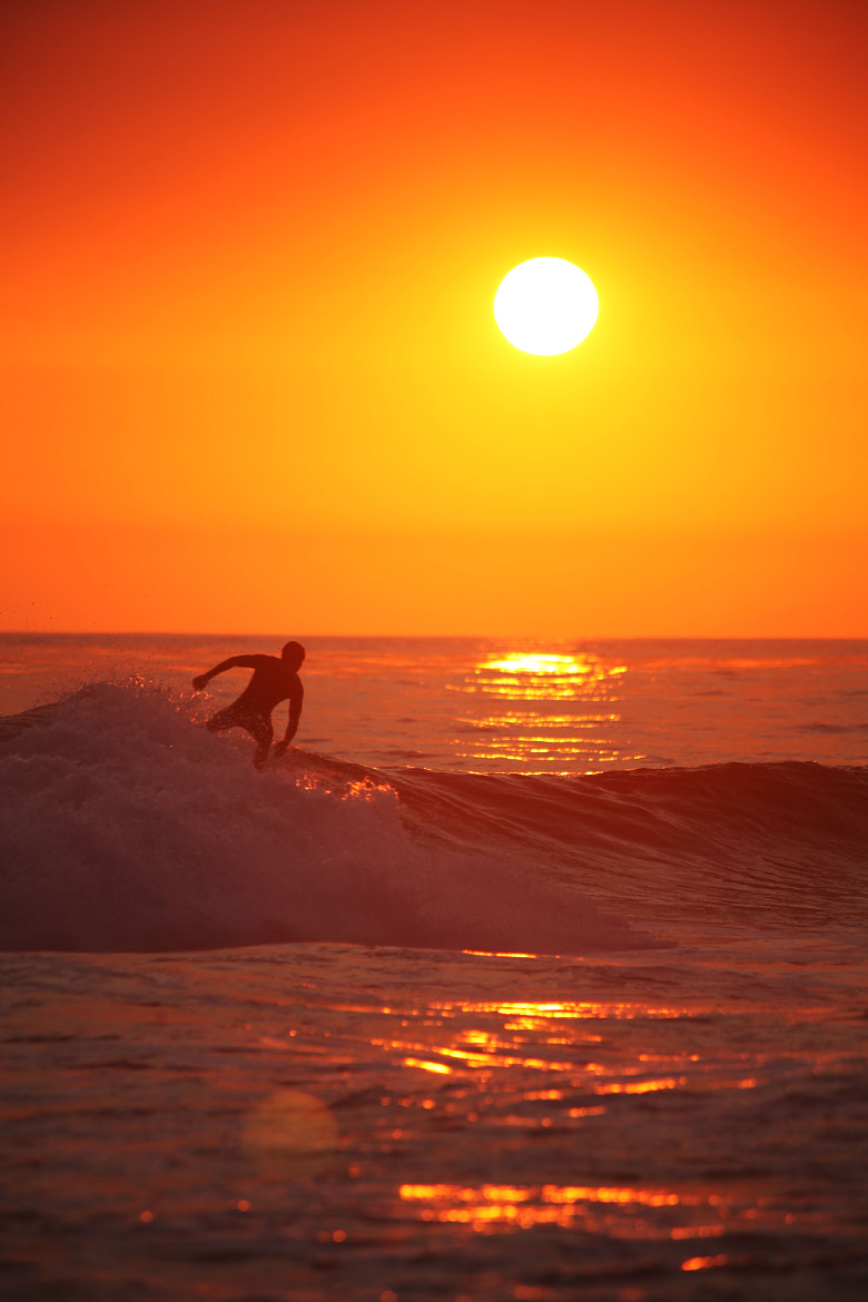 Photograph Sunset Surfer by B T on 500px