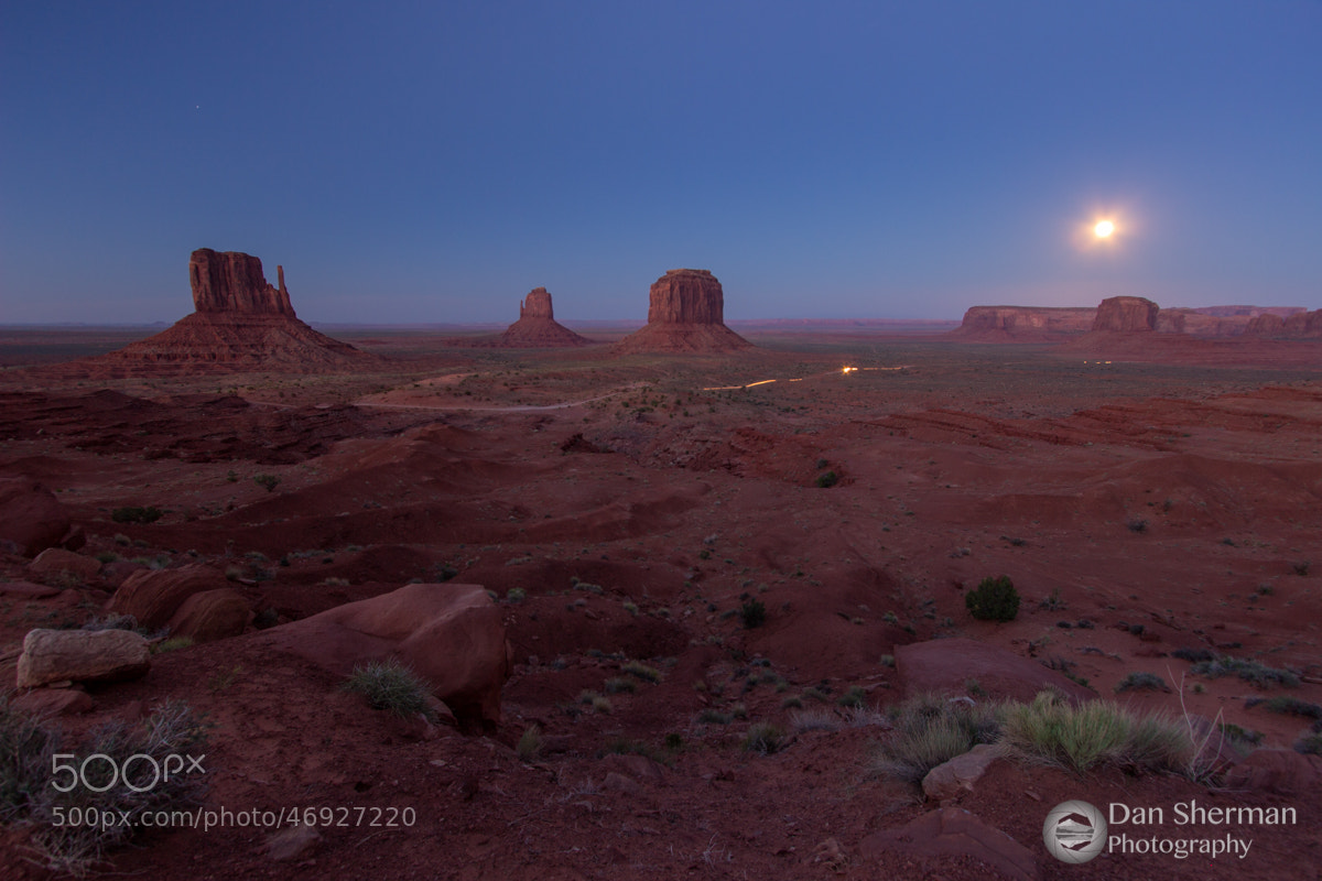 Photograph Monuments by Moonlight by Dan Sherman on 500px