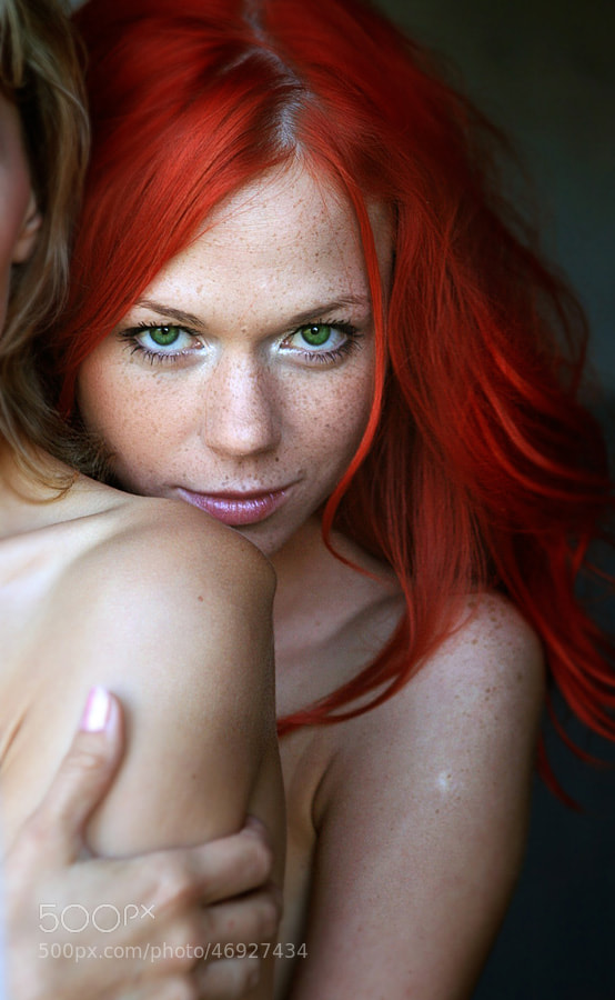 Photograph Red portrait by Jana Ultra on 500px