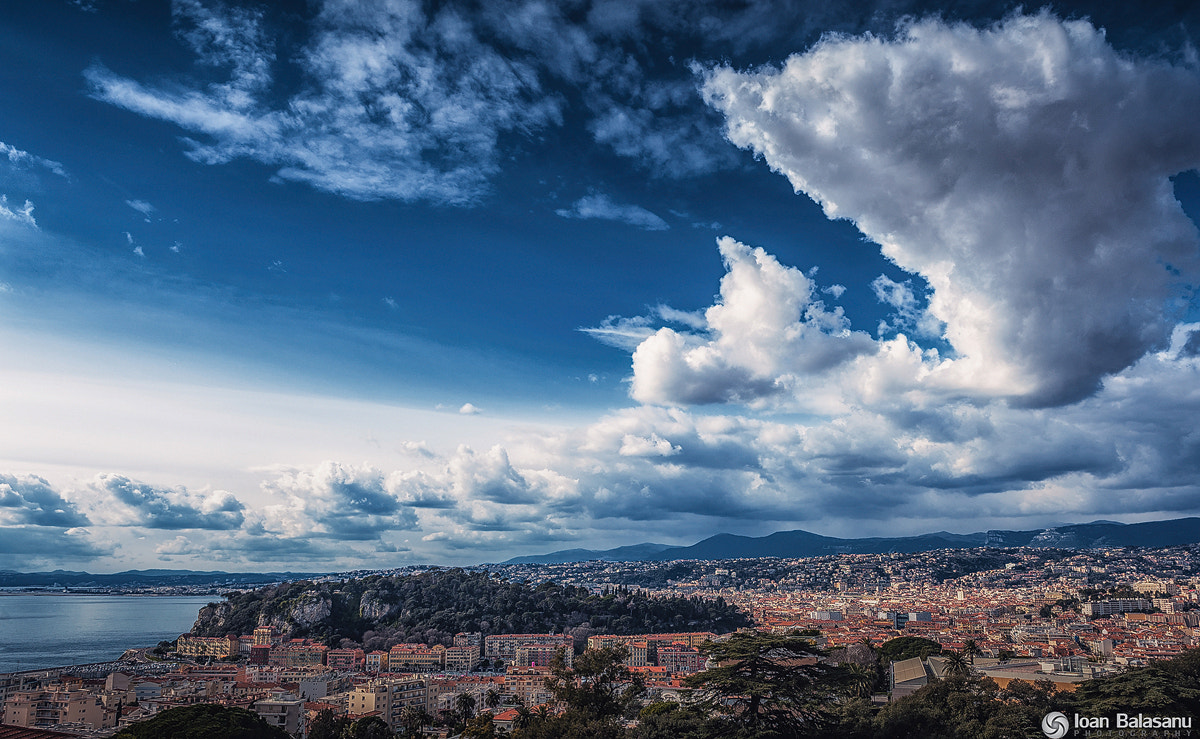 Photograph Clouds over Nice by Ioan Balasanu on 500px