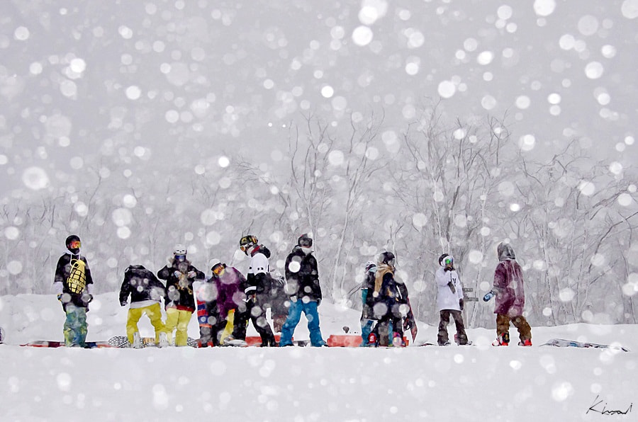 Photograph Come down snow by KIM MI on 500px