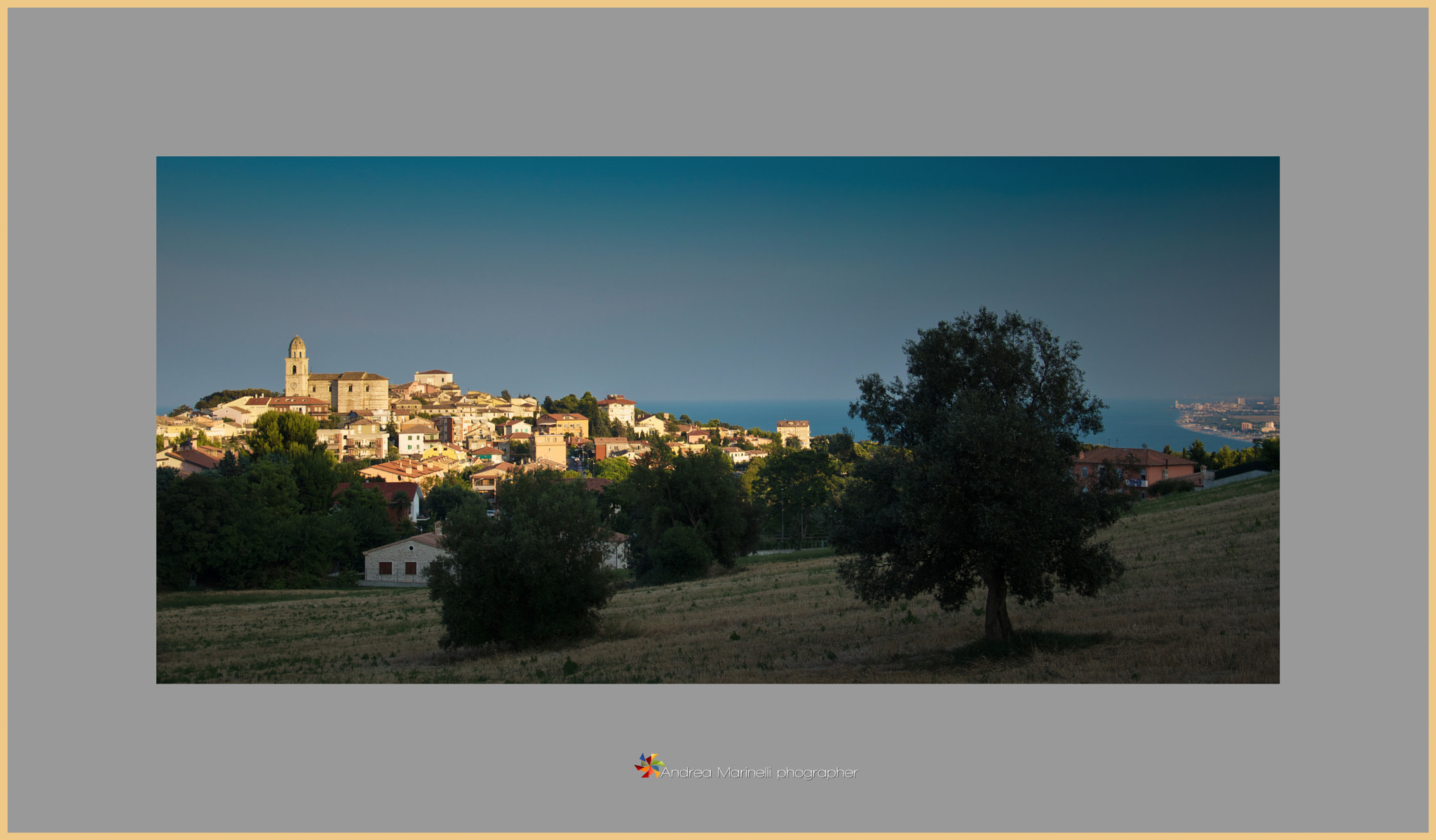 Photograph Tramonto a Sirolo by Andrea Marinelli  on 500px
