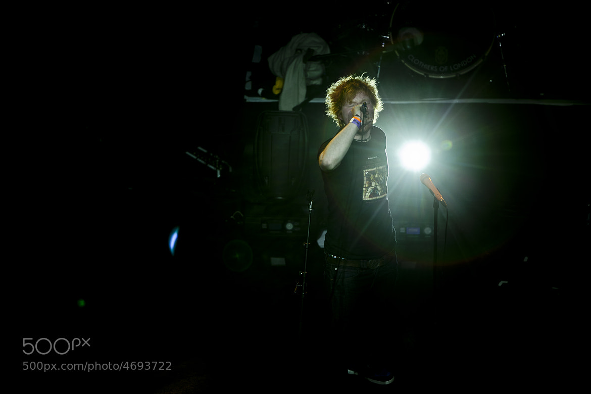 Photograph Ed Sheeran live by Mamun Humayun on 500px