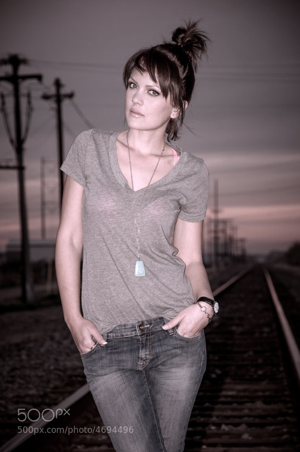train tracks are always fun