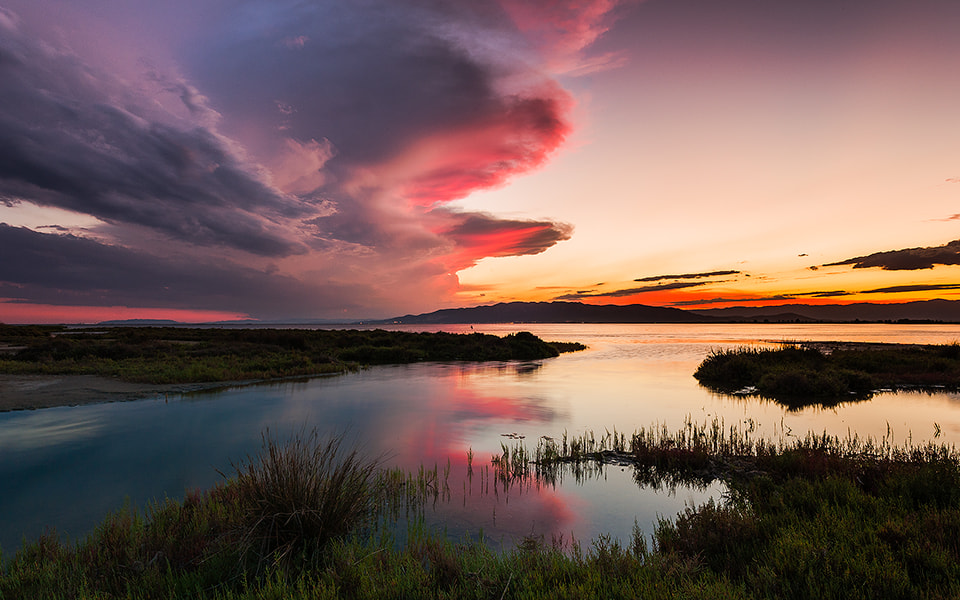 Photograph West in the lagoon by Manel Galera on 500px