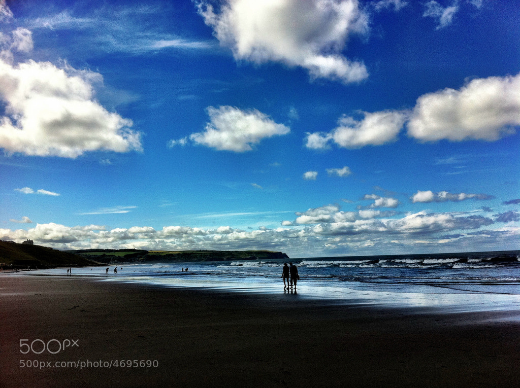 Photograph Whitby beach by Tom Tolkien on 500px