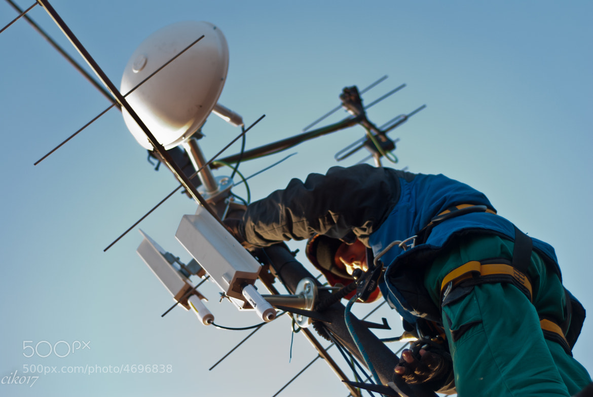 Photograph Working at height by Pavel Číhal on 500px