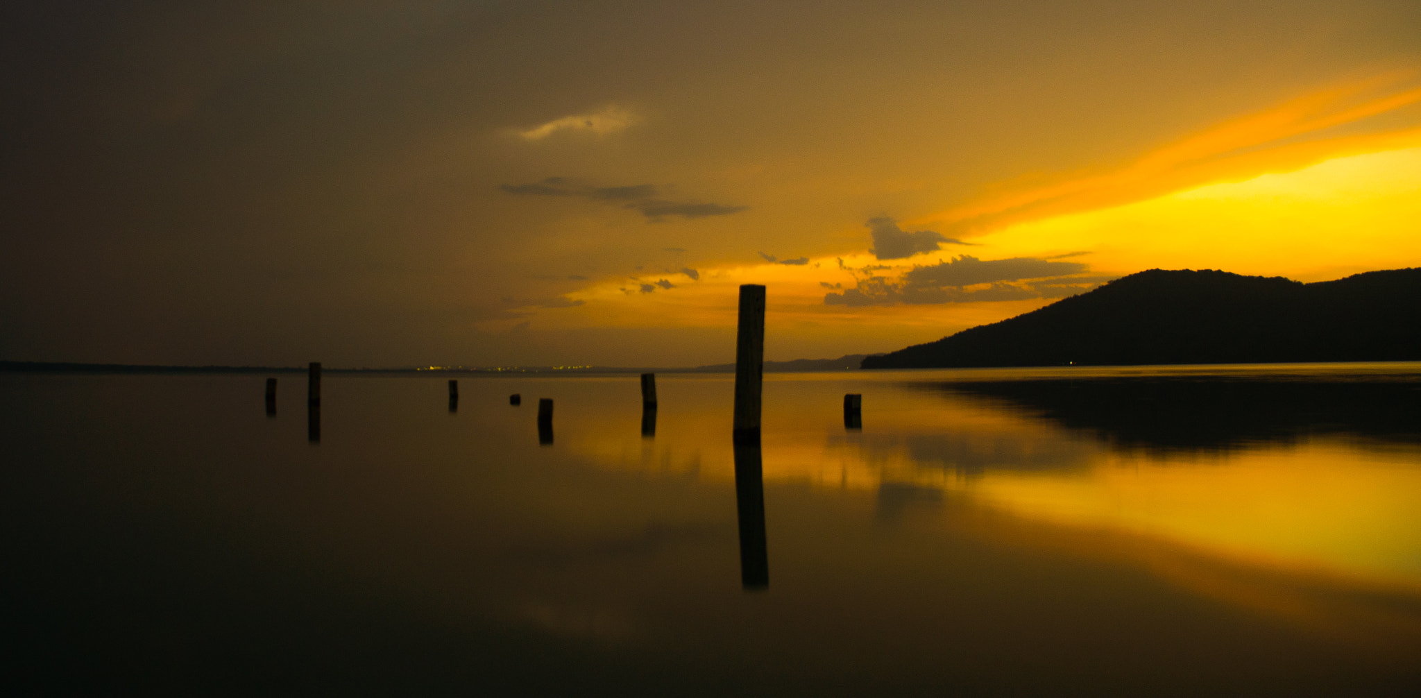 Photograph Sunset over Petén - Itzá Lake (Guatemala) by Lluís Grau on 500px
