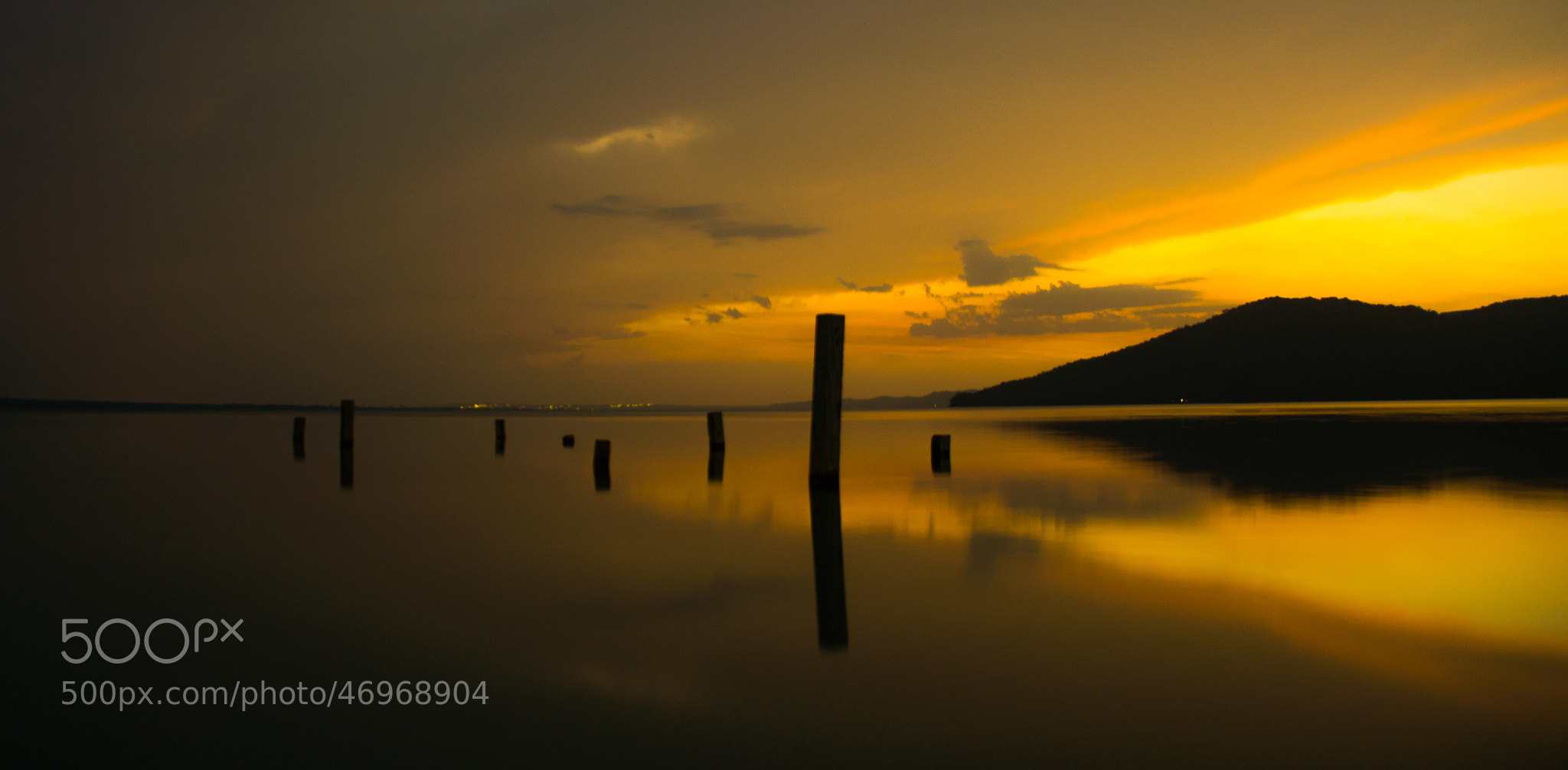 Photograph Sunset over Petén - Itzá Lake (Guatemala) by Lluis Grau on 500px