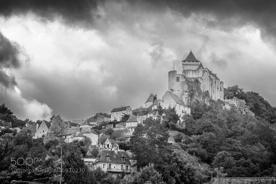 Photograph Chateau Castelnaud by PolTergejst  on 500px