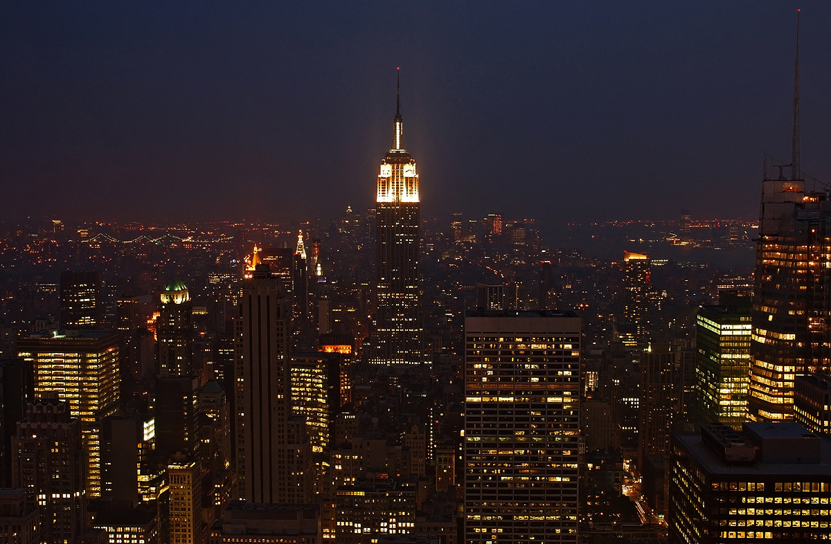 Photograph NYC Rockefeller View by Michael Hubrich on 500px