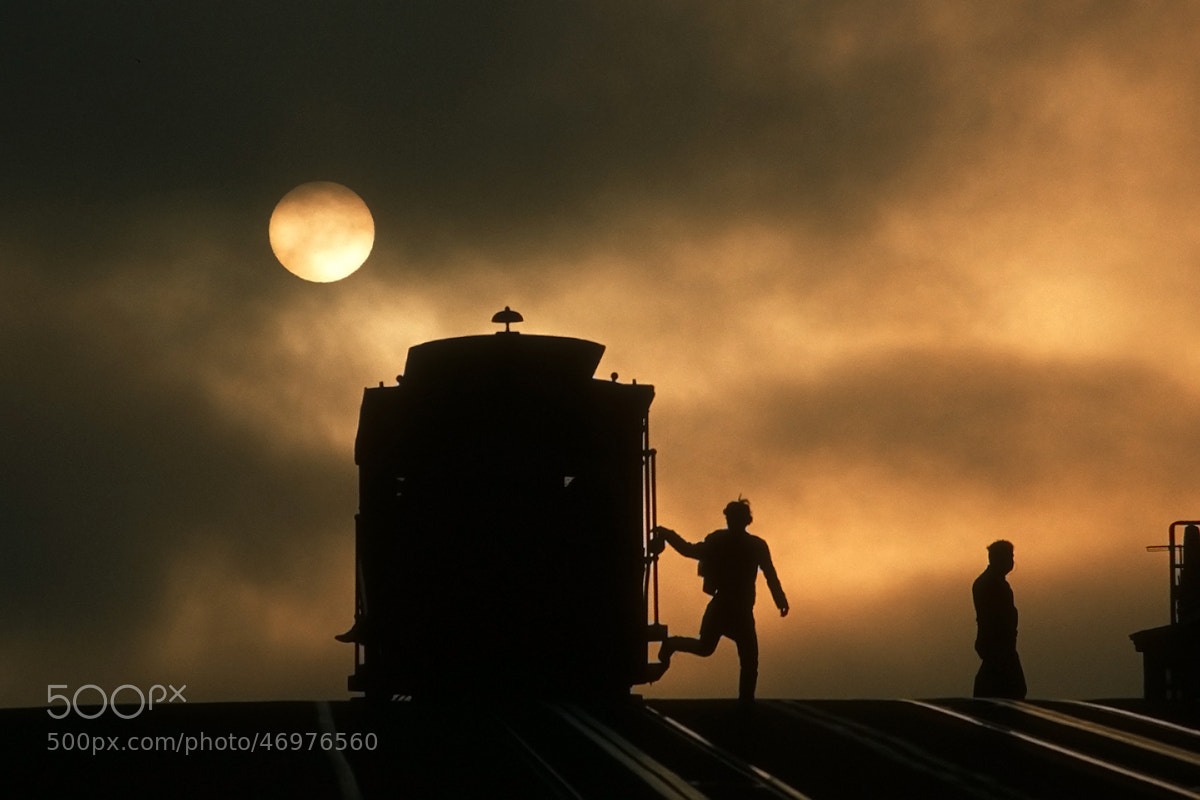 Photograph Cable Car in Fog by Michael Hubrich on 500px