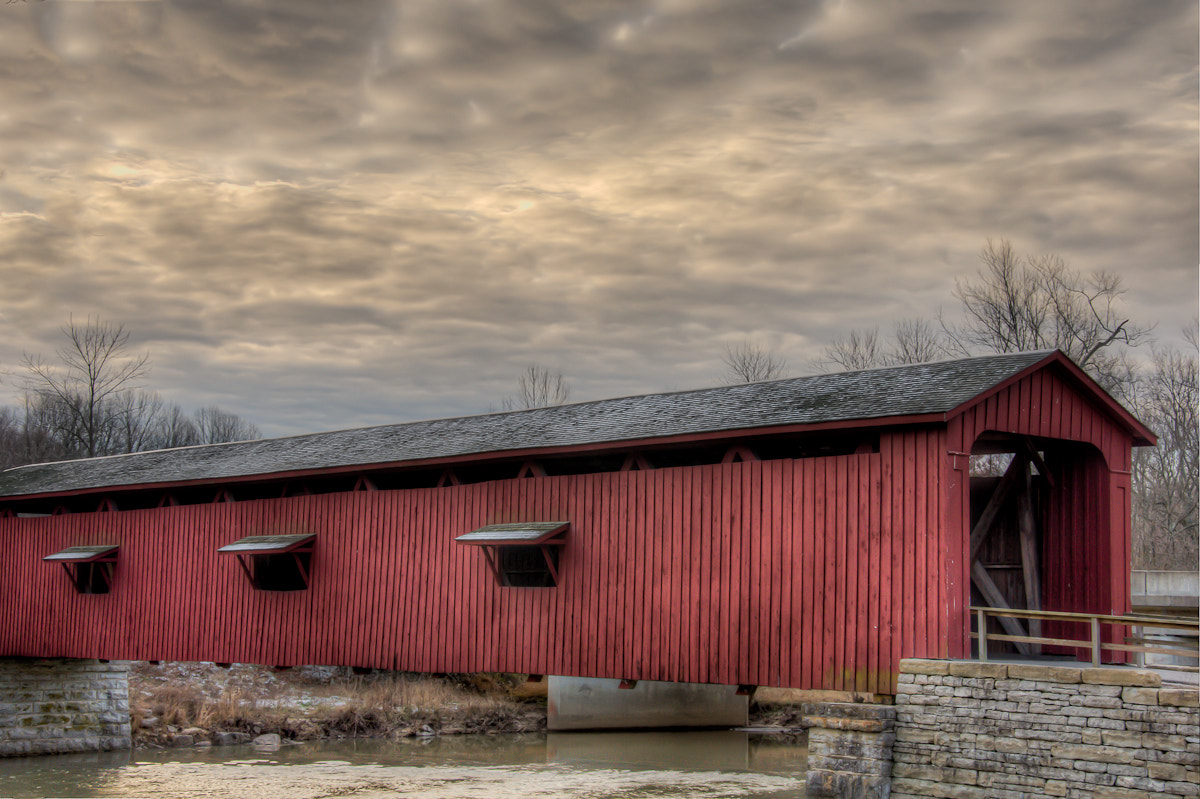 Photograph Cataract Covered Bridge by Tracy Wilson on 500px