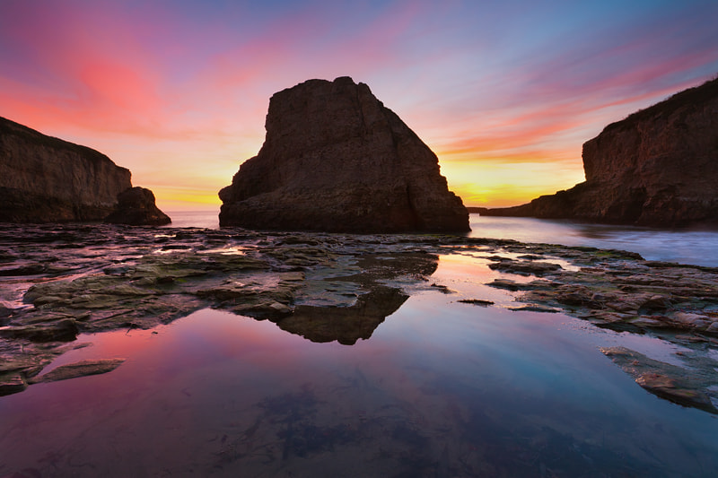 Photograph Shark Fin Cove by Lukas Wenger on 500px
