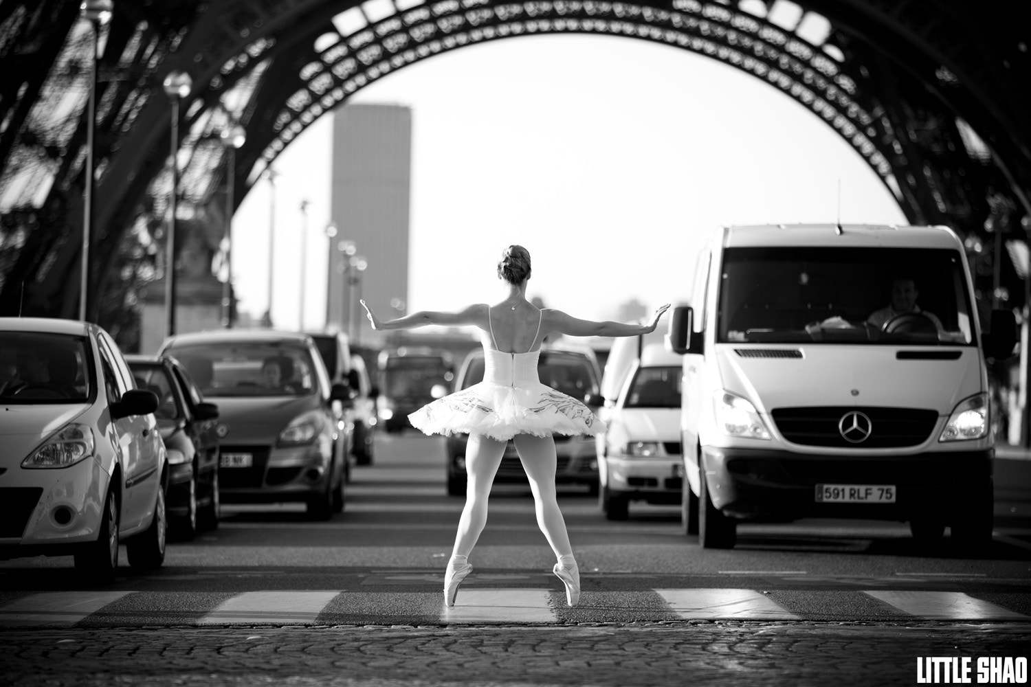 Photograph Ballerina Cars Stopper by Little Shao on 500px