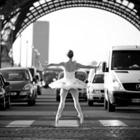 Ballerina Cars Stopper by Little Shao (littleshao) on 500px.com