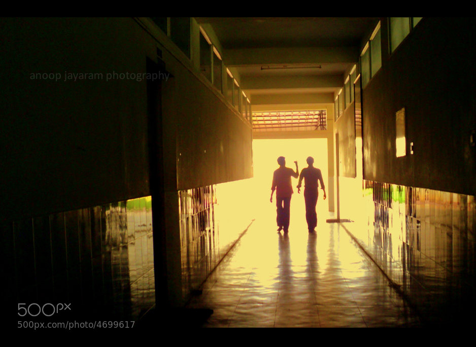 Photograph college corridor by Anoop Jayaram on 500px